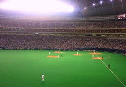 2009年10月18日CS中日VS東京ヤクルトINナゴヤドーム