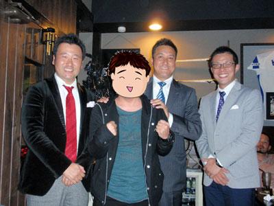 落合さん、大澤さん、若狭さんwithずたたん